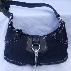 Coach mini handbag pristine pre-owned condition